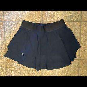 Lululemon High Rise Court Rival True Navy Skirt 10